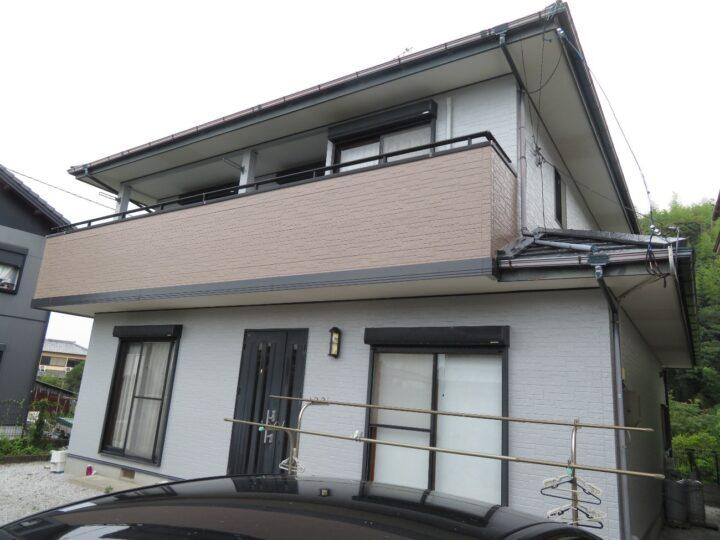 南国市 t様邸 屋根塗装 外壁塗装工事 2色ツートーンカラーでイメージチェンジしました。