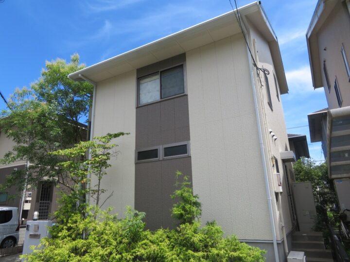 日本ペイント最上級ランク塗料で塗替えをしました。高知市みづき n様邸 屋根塗装 外壁塗装工事