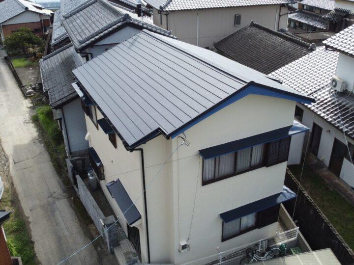 いの町 i様邸 スーパーガルテクト屋根葺き替え 外壁塗装工事🏠