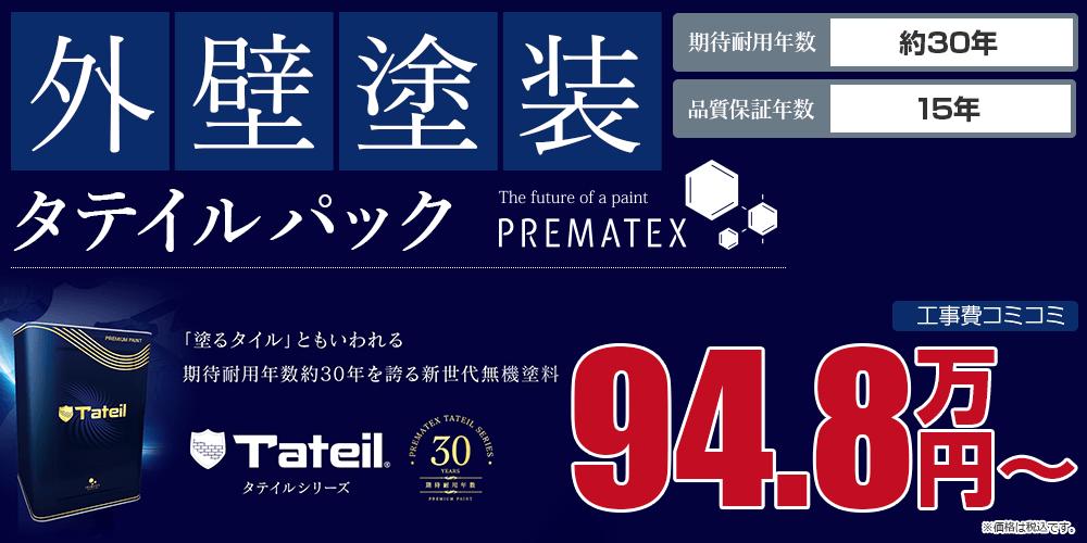 タテイルパック塗装 94.8万円