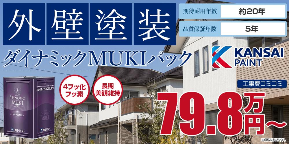 ダイナミックMUKIパック塗装 79.8万円